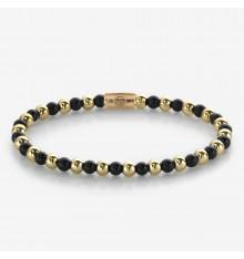 rebel&rosea-mix black madonna-bracelet-extensible-femme-bijoux totem.
