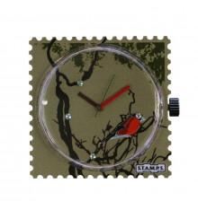 stamps-diamond robin-cadran-montre-swarovski-bijoux totem