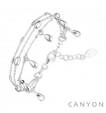 canyon france-bracelet-argent-3 chaines-bijoux totem