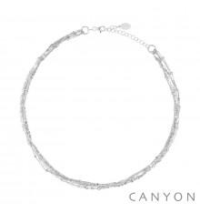 canyon france-collier-argent 925-multi chaines-bijoux totem.