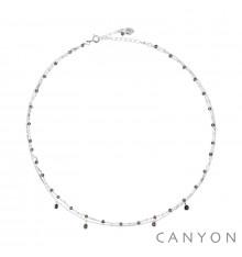 canyon france-collier-argent 925-quartz-bijoux totem.