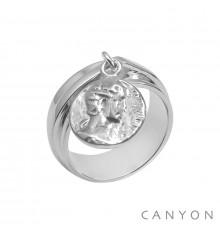 Canyon france-bague-argent-anneau-bijoux totem.