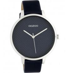oozoo-montre-femme-bracelet cuir-marine-bijoux totem