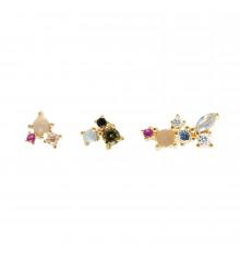 pdpaola-atelier-la palette-boucles d'oreilles-bijoux totem