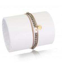 loetma-inca-bracelet-multi tours-réglable-perle-bijoux totem