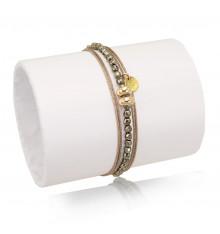 loetma-inca-bracelet-multi tours-réglable-saturne-bijoux totem