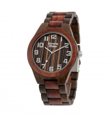 greentime-montre-basic collection-homme-bois de santal-bijoux totem