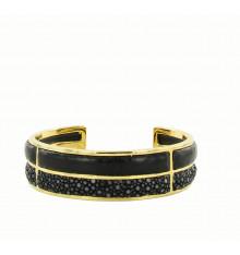 barong barong-saphira layers-bracelet-noir-bijoux totem.