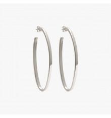cxc-sirocco-boucles d'oreilles-plaquées argent-créoles-bijoux totem