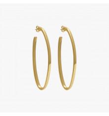 cxc-sirocco-boucles d'oreilles-plaquées or-créoles-bijoux totem