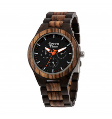 greentime-montre-natural life style-homme-zèbre-santal-bijoux totem