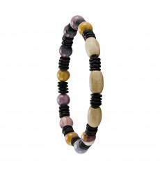 greentime-bracelet-homme-extensible-bois-jaspe-bijoux totem.
