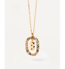 pdpaola-new letters-lettre b-collier-bijoux totem