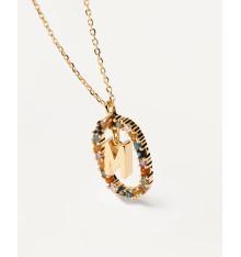 pdpaola-new letters-lettre-M-collier-bijoux totem