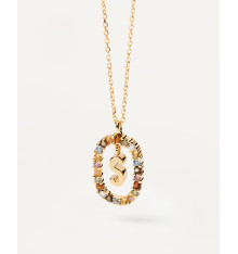 pdpaola-new letters-lettre-S-collier-bijoux totem