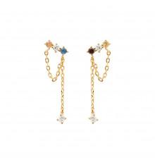 pdpaola-five-mana-gold-boucles d'oreilles-bijoux totem