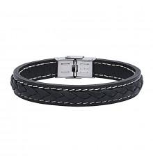 elden paris-carlos-bracelet homme-cuir-noir-bijoux totem