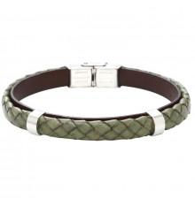 elden paris-everyday dark-bracelet homme-cuir-kaki-bijoux totem
