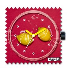 stamps-citrus fish-cadran-montre-bijoux totem