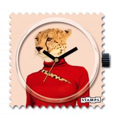 stamps-léo girl-cadran-montre-bijoux totem