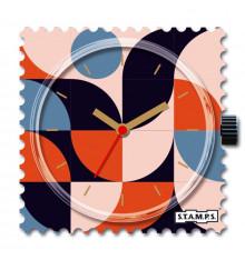 stamps-rétro waves-cadran-montre-bijoux totem