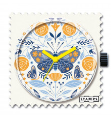 stamps-bloomy butterfly-cadran-montre-bijoux totem