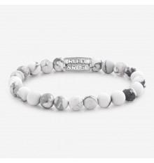 rebel&rose-matt virgin-blanc-bracelet-extensible-homme-bijoux totem.