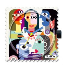 stamps-the happy crowd-cadran-montre-bijoux totem