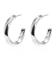 zag-bijoux-boucles d'oreilles-créoles-totie-acier-bijoux totem.