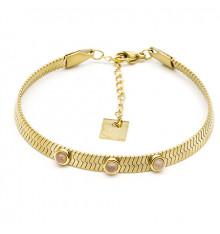 zag-bijoux-bracelet-efia-acier-doré-quartz-bijoux totem.