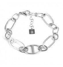 zag-bijoux-bracelet-acier-argenté-bijoux totem.