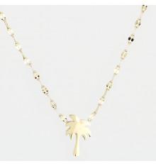 zag-bijoux-palmier-collier-acier-doré-bijoux totem.