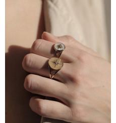 zag-bijoux-sun-bague-acier-argenté-bijoux totem.