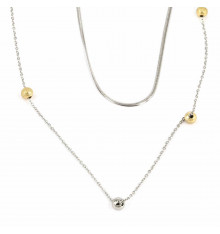 zag-bijoux-collier-acier-argenté-bijoux totem.
