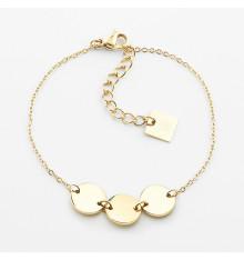 zag-bijoux-bracelet-acier-doré-cardin-bijoux totem.