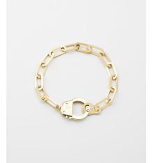 zag-bijoux-hook-bracelet-acier-doré-bijoux totem.