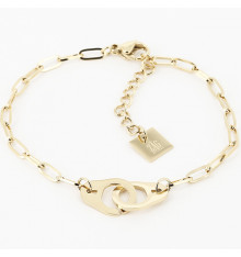 zag-bijoux-bracelet-menotte-acier-doré-bijoux totem.
