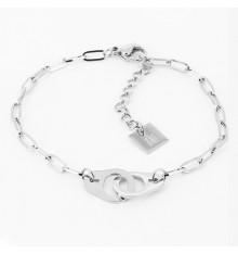 zag-bijoux-bracelet-menotte-acier-argenté-bijoux totem.