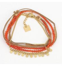 zag-bijoux-bracelet-busara-acier-doré-bijoux totem.