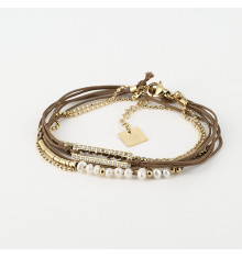 zag-bijoux-bracelet-paper-acier-doré-bijoux totem.