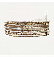 zag-bijoux-bracelet-aella-acier-doré-bijoux totem.