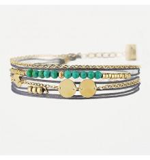 zag-bijoux-bracelet-acier-doré-bijoux totem.