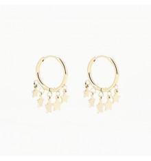 zag-bijoux-boucles d'oreilles-créoles-acier-doré-bijoux totem.
