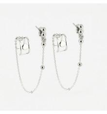 zag-bijoux-piombo-boucles d'oreilles-acier-argenté-bijoux totem.