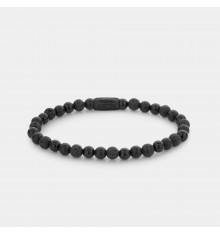 rebel&rose-black rock-bracelet-extensible-femme-bijoux totem.