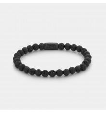ebel&rose-black moon-bracelet-extensible-femme-pierre de lave-bijoux totem.