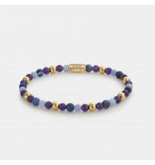 rebel&rose-are violets blue-bracelet-extensible-femme-bijoux totem.