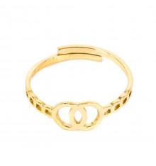 zag-bijoux-doriane-bague-acier-doré-bijoux totem.