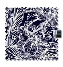 stamps-night flower-cadran-montre-bijoux totem