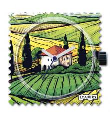 stamps-tuscany-cadran-montre-bijoux totem